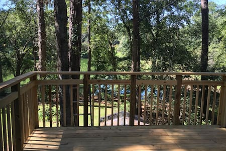 Bright, large apartment with lake view near FSU - Tallahassee - 아파트