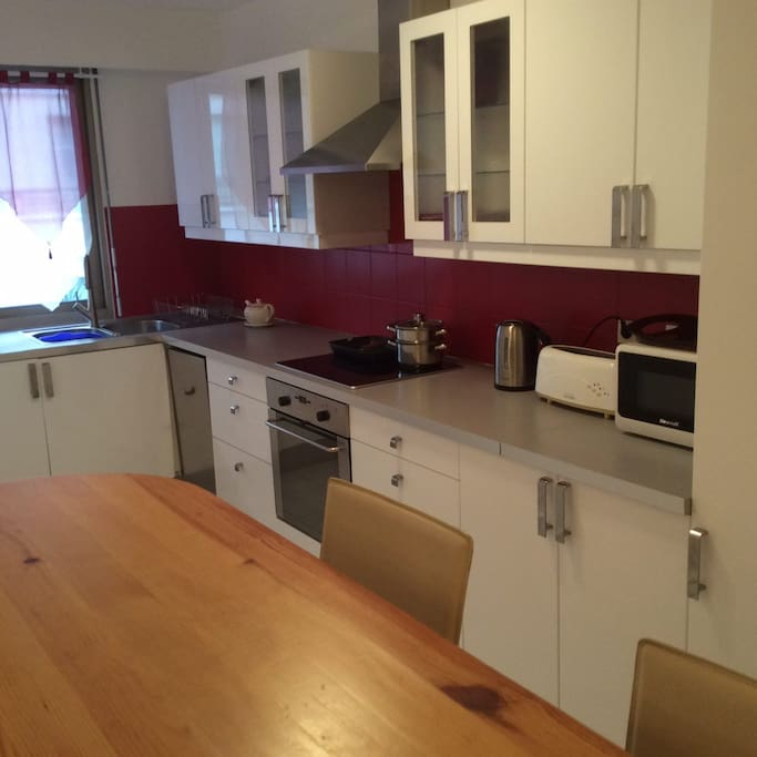 Modern and new kitchen