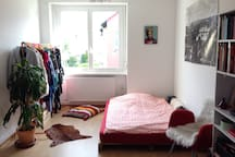 Spacious and quiet room near city center & KIT