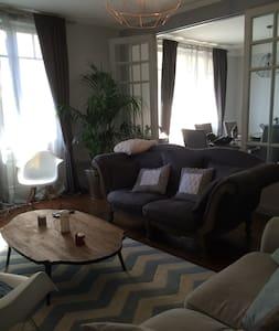 Grand Appartement de charme au coeur de Rennes - Huoneisto