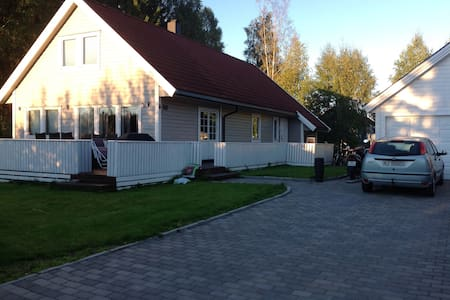 House near the nature in Askim,45 min to Oslo - Askim - Casa