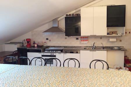 appartamento 2 camere matrimoniali cucina ,bagno - Villa Ceccolini