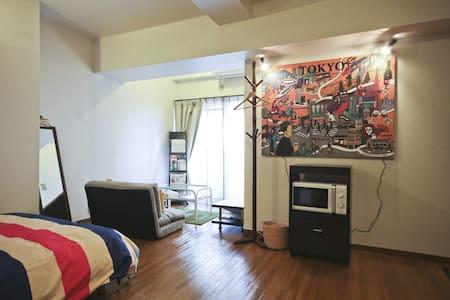 Clean flat 10 mins from Akihabara and Asakusa - Apartment