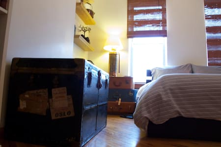 Charming, warm room in Bushwick - Apartment