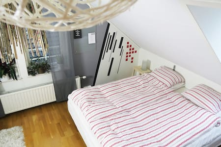 Bright room in cozy area just outside Helsingborg! - Kattarp