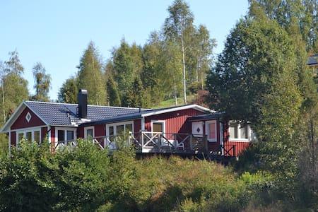 Zweedse villa direct aan meer - Bengtsfors - Villa