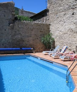 Maison Bouleau - stone house with private pool - House