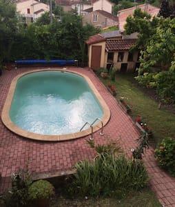 Maison bourgeoise pour 15p avec piscine privé - Carmaux - Casa a schiera