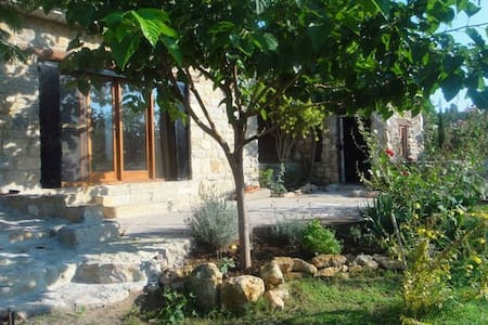 Finca rural con piscina - Townhouse