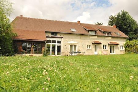 Grande maison de famille idéale pour groupes - Lescherolles - Hús