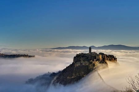 In the middle of Bagnoregio - Lejlighed