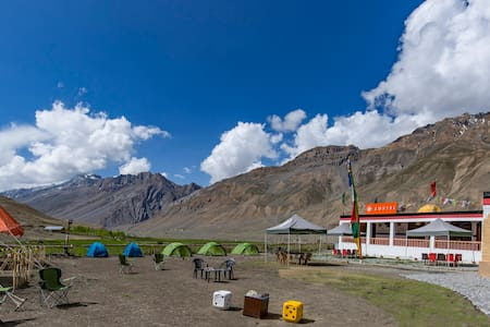Hostel in Kaza, Spiti Valley - Outdoor Tent - Kaza Khas - Tente
