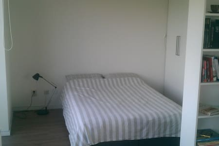 Cosy apartment near business district, 30m from Central Station, 15m from Museum Square, metro and 24/h bus connection. Free parking as well.