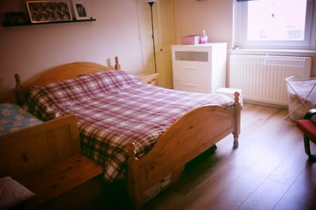 2-beds flat 20min by train from Glasgow Central - Apartamento