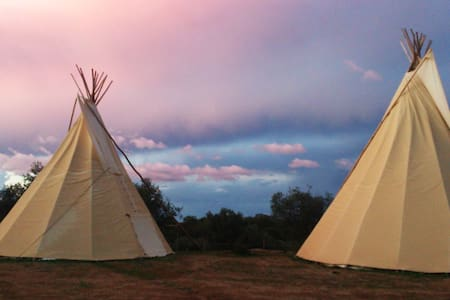 Ranch do Novo Mundo Tepee - 3 to 6p - Tenda Tipi