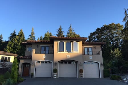 Peaceful guest home with world-class views - Redmond - Hus