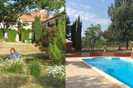 Maison 7 personnes - piscine 12x6m - Saint-Mont