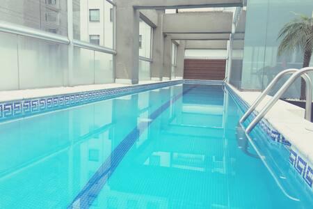 Viaje de Negocios en Polanco con Alberca y Gym - Apartament