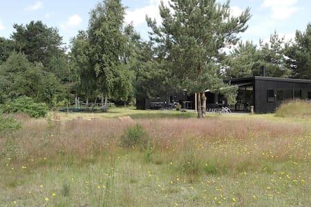 2 huse i ét, Mols - unik arkitektur/natur, 8 pers - Knebel - Cabin