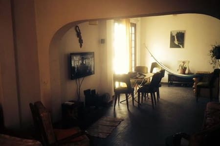 Chambre individuelle / 1 room in 70´s big flat - Tunis - Apartment