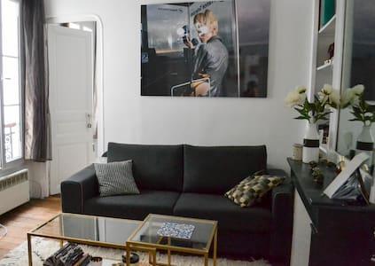 Cosy Parisian Flat Near Moulin Rouge/Montmartre ! - Paris - Apartment