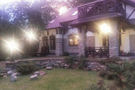 Villa on the Mountain's Riverside - Verkhnje Syn'ovydne - Villa