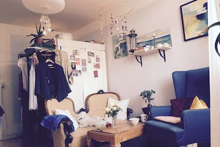 Lovely small flat with balcony - København - Apartment