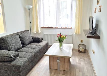 Schöne, ruhige Ferienwohnung in der Böhm. Schweiz - Wohnung