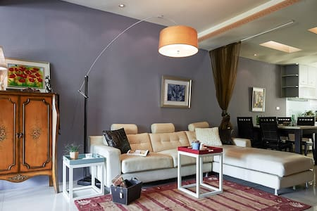 5 minutes to MRT/near Taipei 101, - Xinyi District - Apartment