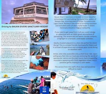 Coach House@Bauan Divers Sanctuary - Huis
