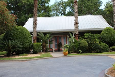 Cottage on a private estate - pool, tennis & beach - Ponte Vedra Beach - House