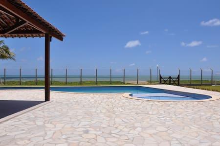 Aconchegante casa beira mar Maria Farinha - Casa