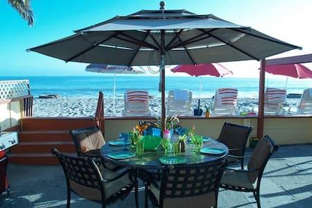 35173 Beach Road- Duplex on the sand-Sleeps 10 - Dana Point - Hus