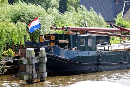 Woonboot Neeltje Marie in Alkmaar - Hajó