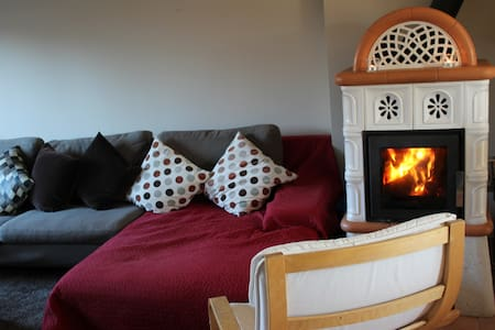 Cosy and comfortable family home with wood stove - Nagykovácsi