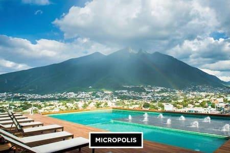 DEPTO LUJO/alberca/GYM/MICROPOLIS/Cerca TEC MTY - Monterrey