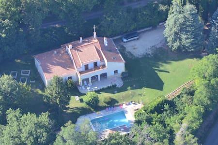Villa Piscine Drôme Provençale - Haus