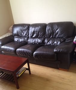 Private Room w Huge Couch in City Centre - Glasgow - Apartment