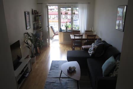Cozy apartment in trendy Sundbyberg - Sundbyberg - Apartamento