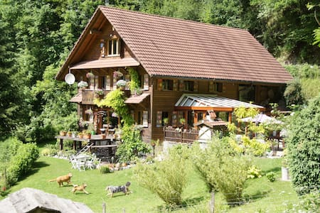 100% nature – yet close to lucerne! - Malters - Bed & Breakfast
