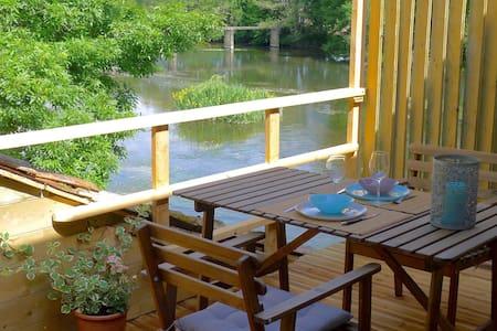 Gîte dans un moulin avec superbe vue sur rivière - Wohnung