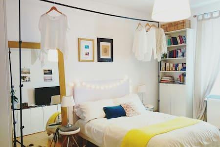 Schönes großes Privatzimmer + Hollandrad - Lägenhet
