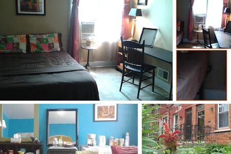 Comfy Space for Two + +  (1-4 people / 2 bedrooms) - Chicago - Reihenhaus