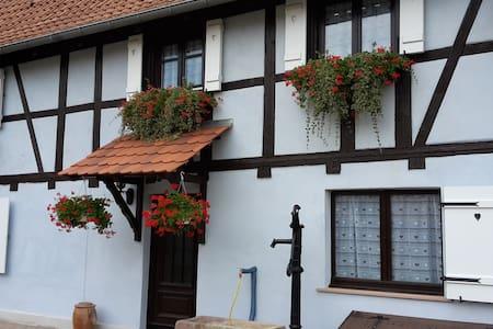 """""""Escale en Alsace""""  maison de 150m2 - Rumah"""