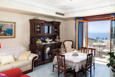 Apartment Ocean - in Sorrento coast, with sea view - Wohnung
