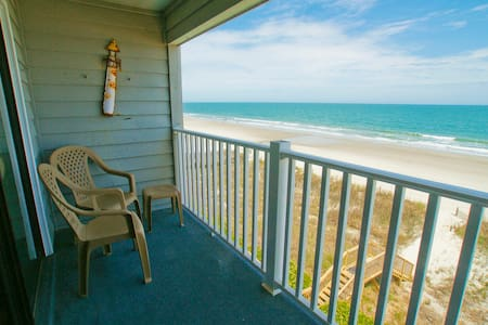 Superb Oceanfront Condo with Amazing View! - 머렐스 인렛(Murrells Inlet)