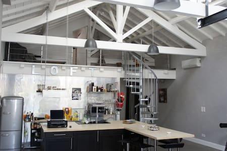 superb loft with pool - Villeneuve-sur-Lot