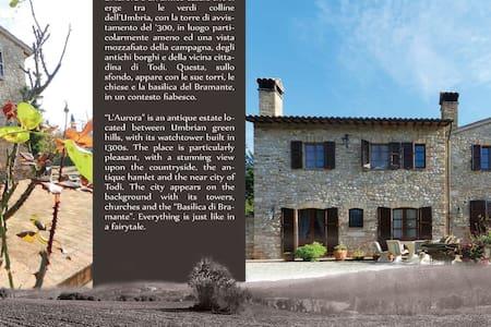 Casale l'Aurora a Todi Umbria