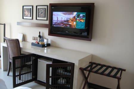 嘉宾酒店公寓内,独自经营,但可使用酒店一切公用设施,如餐厅,游泳池等。 - Lägenhet
