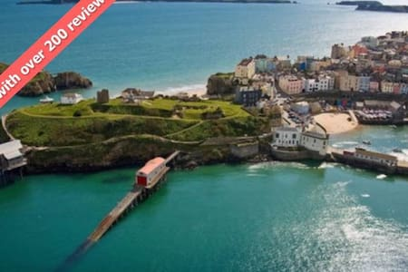 Tenby Town Centre AMAZING Location - Tenby - 아파트